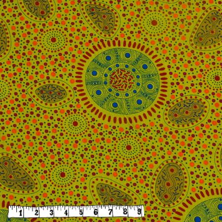 Bio Rapskissen - Aborigines hellgrün