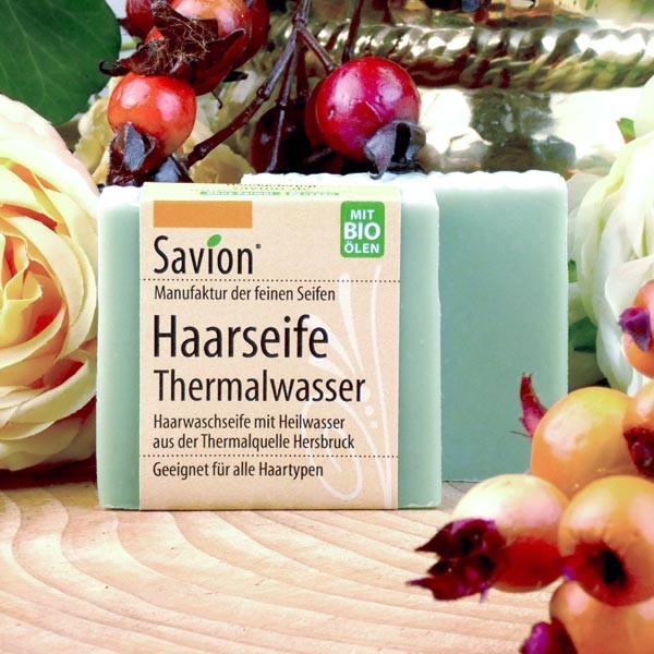 Haarseife Thermalwasser